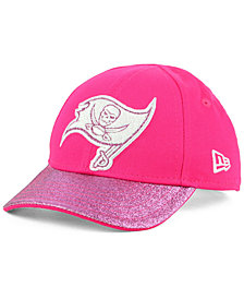 New Era Girls' Tampa Bay Buccaneers Shimmer Shine Adjustable Cap