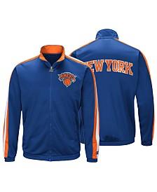 G-III Sports Men's New York Knicks The Challenger Starter Track Jacket