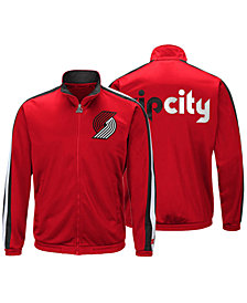 G-III Sports Men's Portland Trail Blazers The Challenger Starter Track Jacket