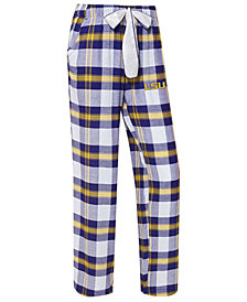 Concepts Sport Women's LSU Tigers Homestretch Flannel Pajama Pants