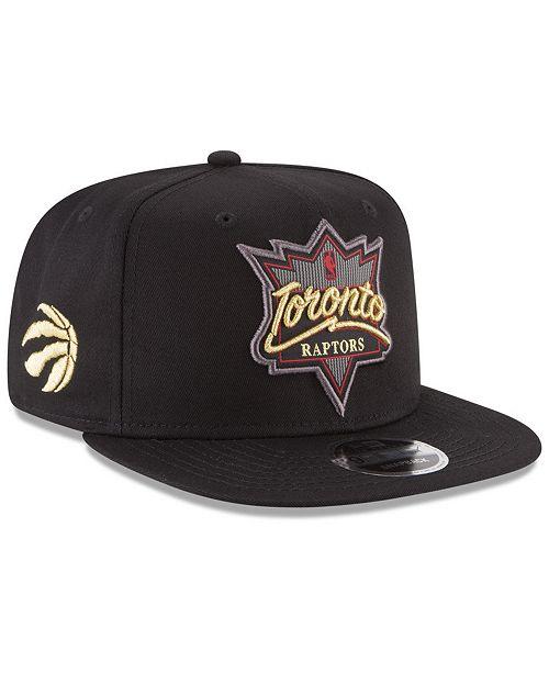 sale retailer 69fc2 d6343 New Era Toronto Raptors Retro Showtime 9FIFTY Snapback ...