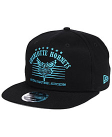 New Era Charlotte Hornets Retro Arch 9FIFTY Snapback Cap