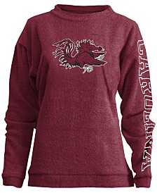 Pressbox Women's South Carolina Gamecocks Comfy Terry Sweatshirt