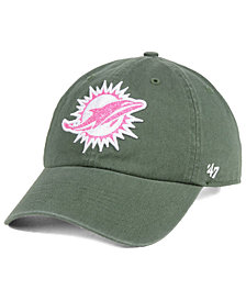 '47 Brand Women's Miami Dolphins Moss Glitta CLEAN UP Cap