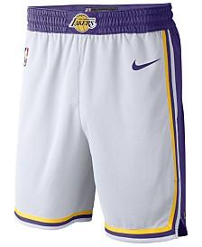 Nike Men's Los Angeles Lakers Association Swingman Shorts