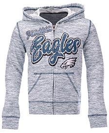 5th & Ocean Philadelphia Eagles Space Dye Hoodie, Girls (4-16)