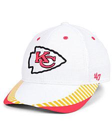 '47 Brand Kansas City Chiefs Tantrum Contender Flex Stretch Fitted Cap