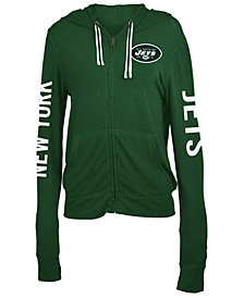 5th & Ocean Women's New York Jets Hooded Sweatshirt