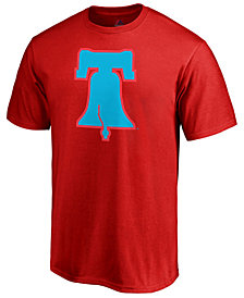 Majestic Men's Philadelphia Phillies Players Weekend Logo T-Shirt