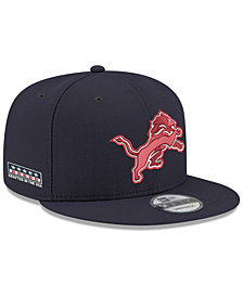 New Era Detroit Lions Crafted in the USA 9FIFTY Snapback Cap