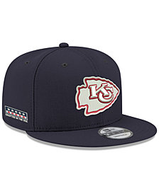 New Era Kansas City Chiefs Crafted in the USA 9FIFTY Snapback Cap