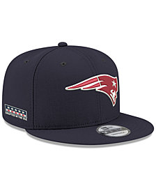 New Era New England Patriots Crafted in the USA 9FIFTY Snapback Cap