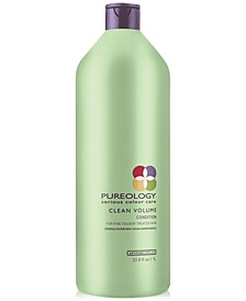 Clean Volume Conditioner, 33.8-oz., from PUREBEAUTY Salon & Spa