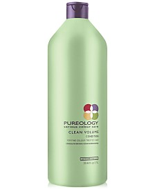 Pureology Clean Volume Conditioner, 33.8-oz., from PUREBEAUTY Salon & Spa