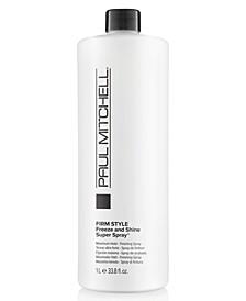 Freeze & Shine Super Spray, 33.8-oz., from PUREBEAUTY Salon & Spa