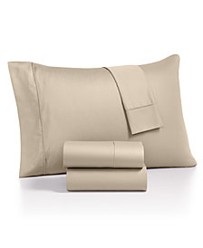 AQ Textiles Monroe 4-Pc. Queen Extra Deep Pocket Sheet Sets, 1000 Thread Count Egyptian Blend