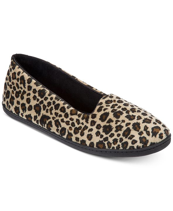 Dearfoams Women's Rebecca Velour Closed Back Slipper