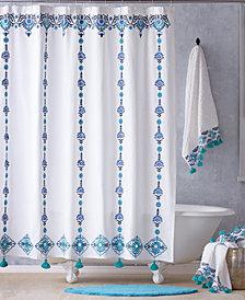 John Robshaw Aloka Shower Curtain