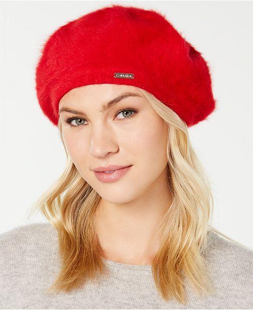 c2eb3874 Calvin Klein Solid Wool Beret & Reviews - Handbags & Accessories ...