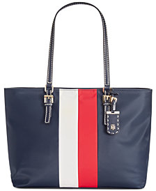 Tommy Hilfiger Julia Corporate Stripe Tote