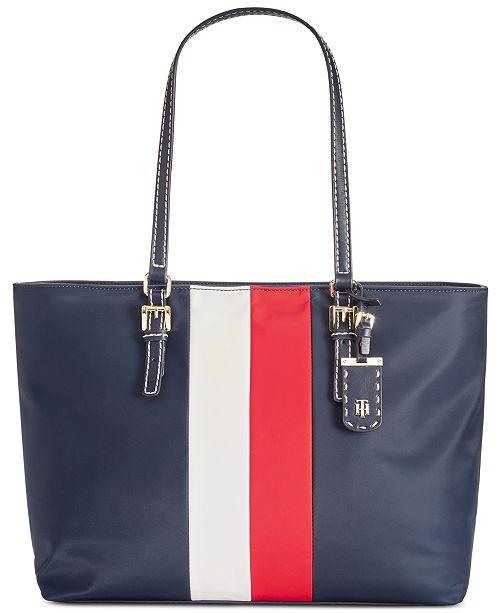 d9e98d11dab Tommy Hilfiger Julia Corporate Stripe Tote & Reviews - Handbags ...