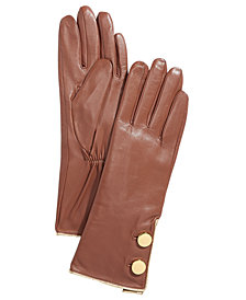 kate spade new york Tipped Button Gloves