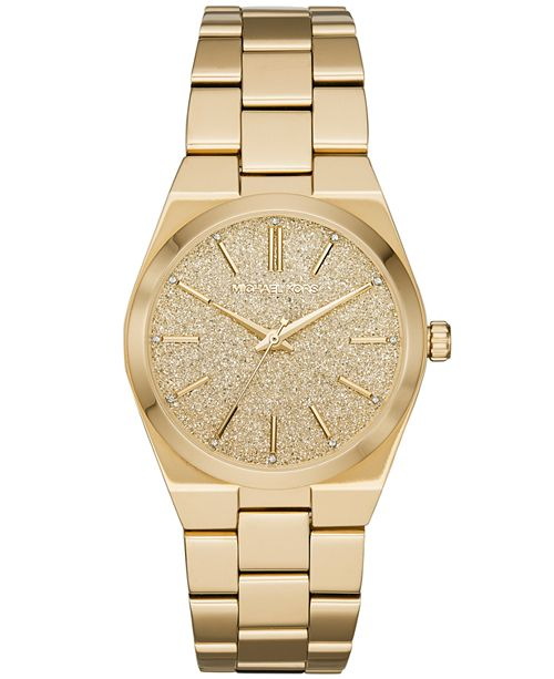 Women S Channing Gold Tone Stainless Steel Bracelet Watch 36mm