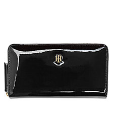 Tommy Hilfiger Julia Patent Zip Wallet