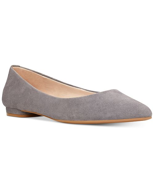ffd03f7d971 Nine West Onlee Pointed-Toe Flats   Reviews - Flats - Shoes - Macy s