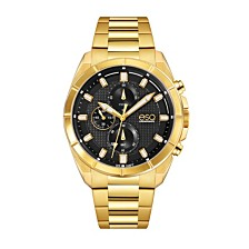 Men's ESQ0131 Gold-Tone IP Stainless Steel Chronograph Bracelet Watch