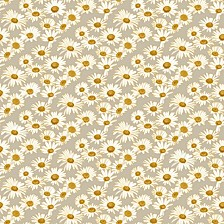 Daisies Self-Adhesive Wallpaper