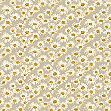 Tempaper Daisies Self-Adhesive Wallpaper
