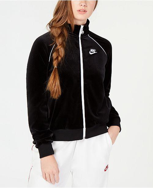 8683e5dd5652b4 Nike Velour Track Jacket & Pants & Reviews - Women's Brands ...