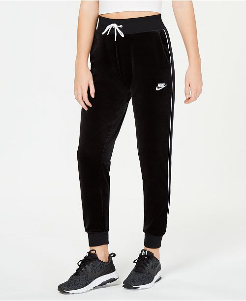 f73c52b0e360 Nike Sportswear Velour Pants   Reviews - Pants   Capris - Women ...