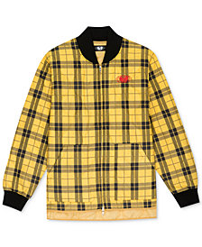 Wu Wear Men's Plaid Global Work Jacket