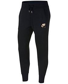 Nike Sportswear Metallic-Logo Fleece Pants