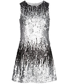 Us Angels Big Girls Ombré Sequin Dress