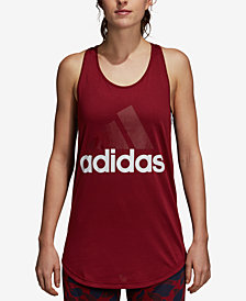 adidas Linear Logo ClimaLite® Racerback Tank Top