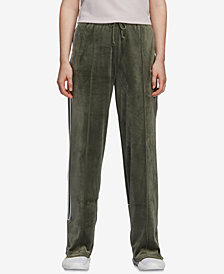 adidas Originals Velvet Three-Stripe Track Pants