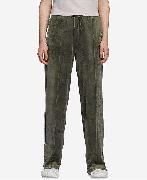 2866b84911fb4 adidas Velvet Three-Stripe Track Pants & Reviews - Pants & Capris ...