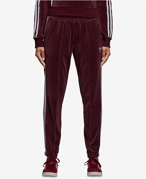 7ece0377efe9c adidas Velour Track Pants & Reviews - Pants & Capris - Women - Macy's