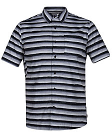 Hurley Men's Board Room Striped Shirt