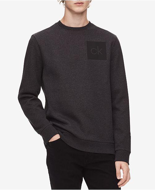 ae2b47c8 Calvin Klein Men's Logo Sweatshirt & Reviews - Hoodies ...