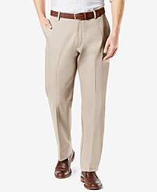 NEW Dockers Men's Signature Lux Cotton Classic Fit Stretch Khaki Pants