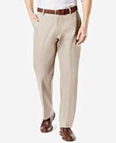 e3c10c30297 Dockers Men s Signature Lux Cotton Classic Fit Stretch Khaki Pants D3