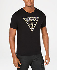 GUESS Men's Logo Print T-Shirt