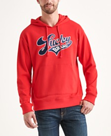 Totally Lucky Unisex Brand Script Hooded Sweatshirt