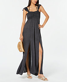 Raviya Ruffled Maxi Dress Cover-Up
