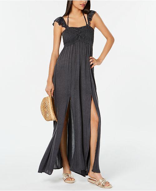 3b4cb03c35 Raviya Ruffled Maxi Dress Cover-Up & Reviews - Swimwear - Women - Macy's