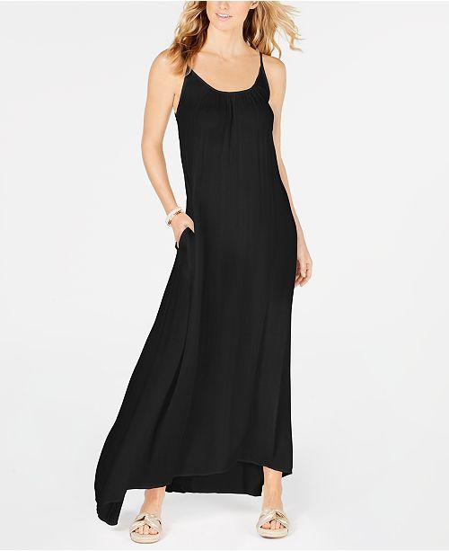 793572bc09 Raviya Crepe Sleeveless Maxi-Dress Cover-Up. Macy's / Women / Swimwear